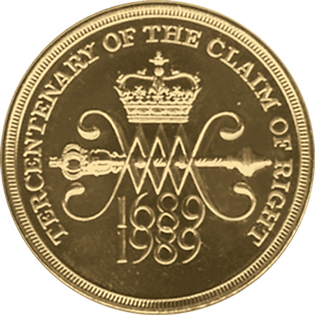 1989 Claim of Right £2