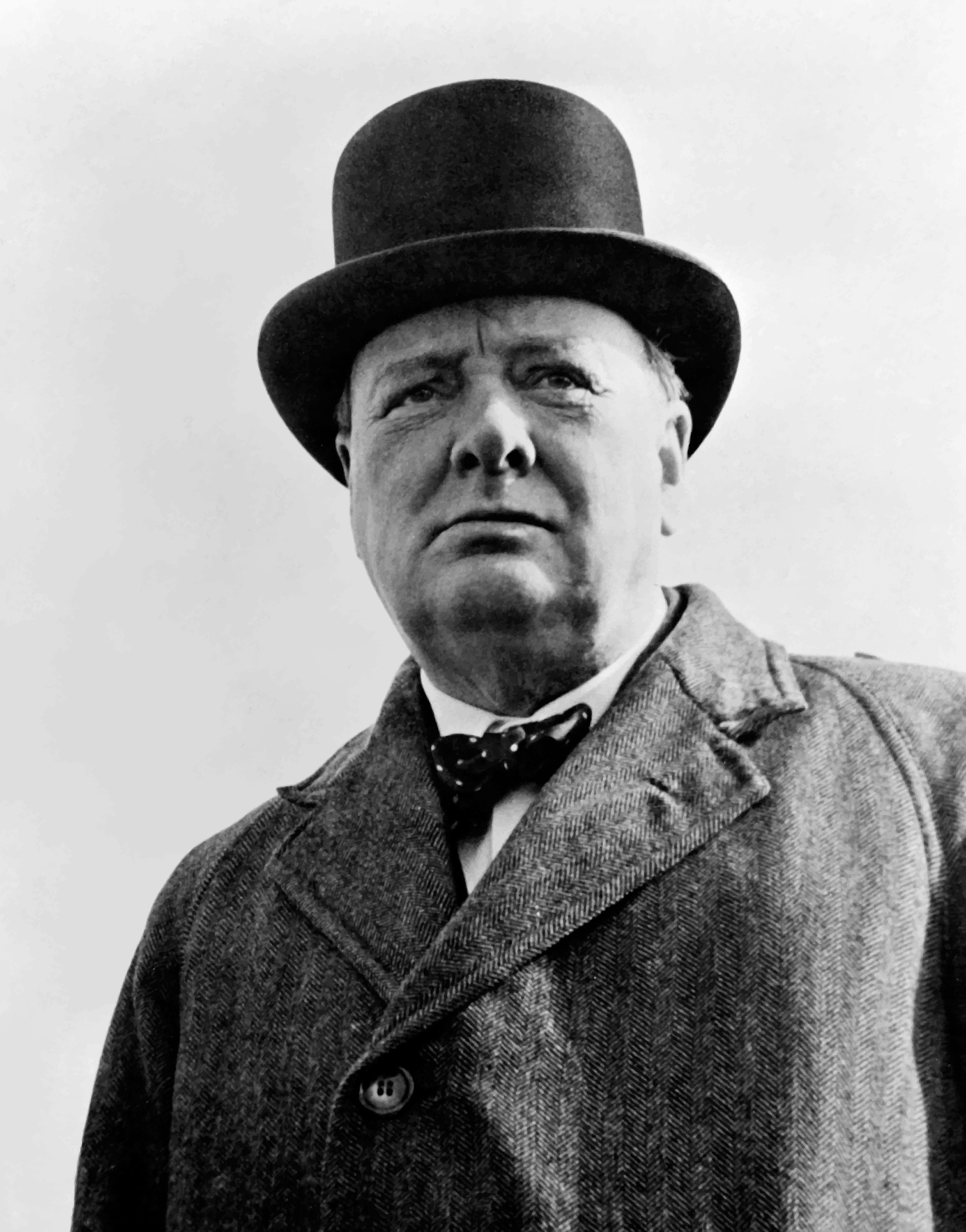 Sir Winston Churchill died on 24th January 1965
