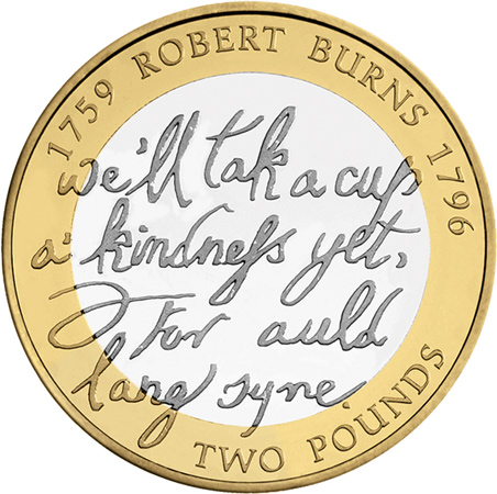 Robert Burns £2