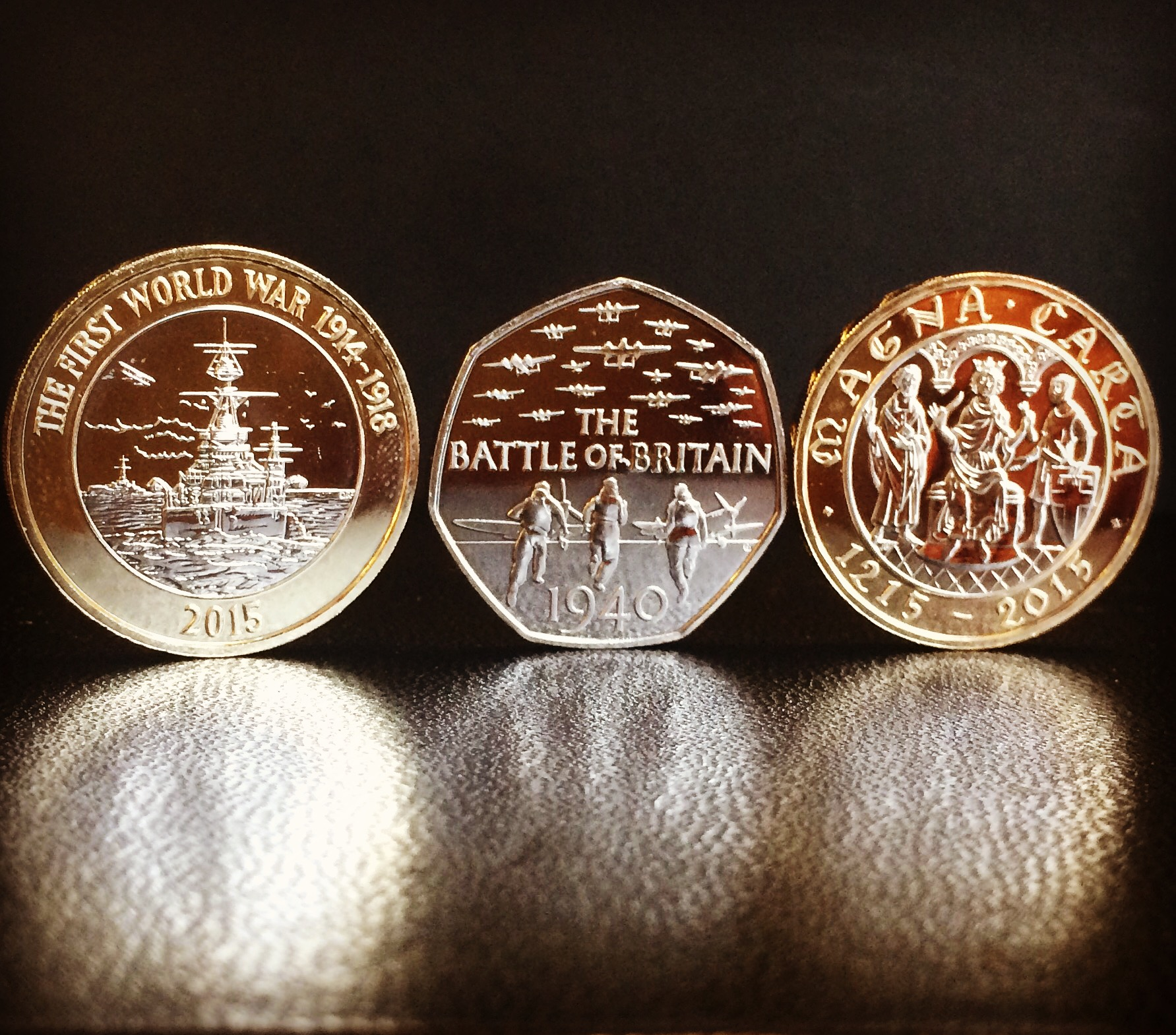 Where are the 2015 commemorative coins?