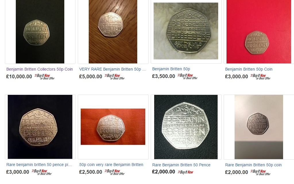 ebay - So I thought my 50p coin was worth £800...