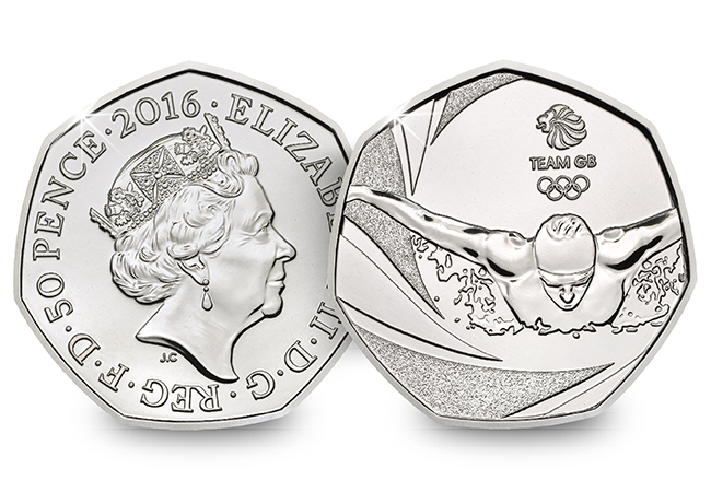 team gb 2016 united kingdom 50p bu coin uku01856 - Royal Mint announces a treat for Olympic 50p Collectors