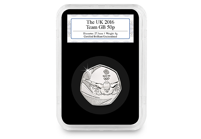 team gb 2016 united kingdom 50p bu coin uku018562 - Royal Mint announces a treat for Olympic 50p Collectors