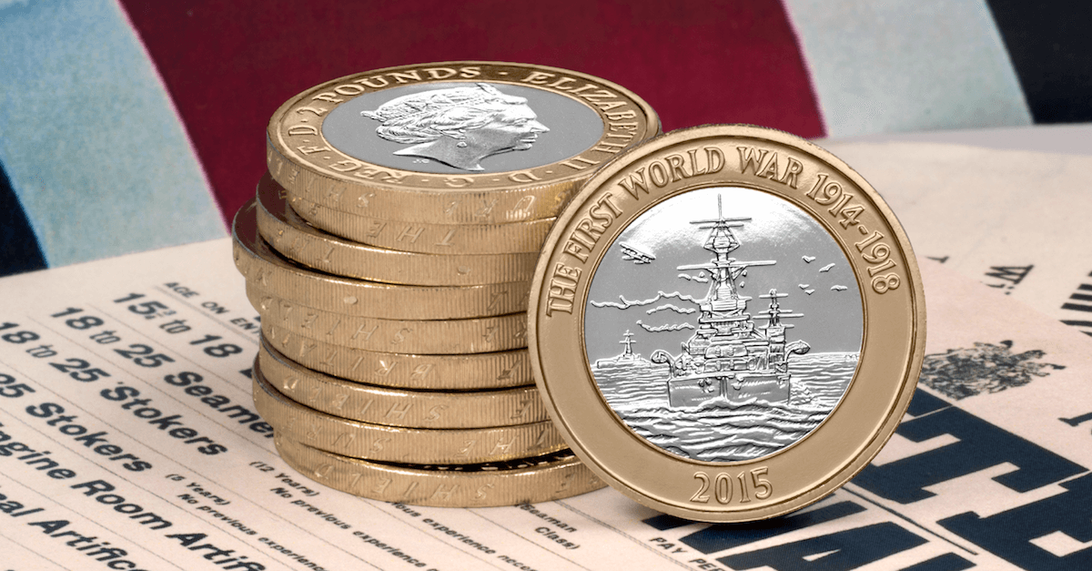 navy 2 pound coin facebook 1200x627 - The 2015 Navy £2 is now one of the rarest coins ever!
