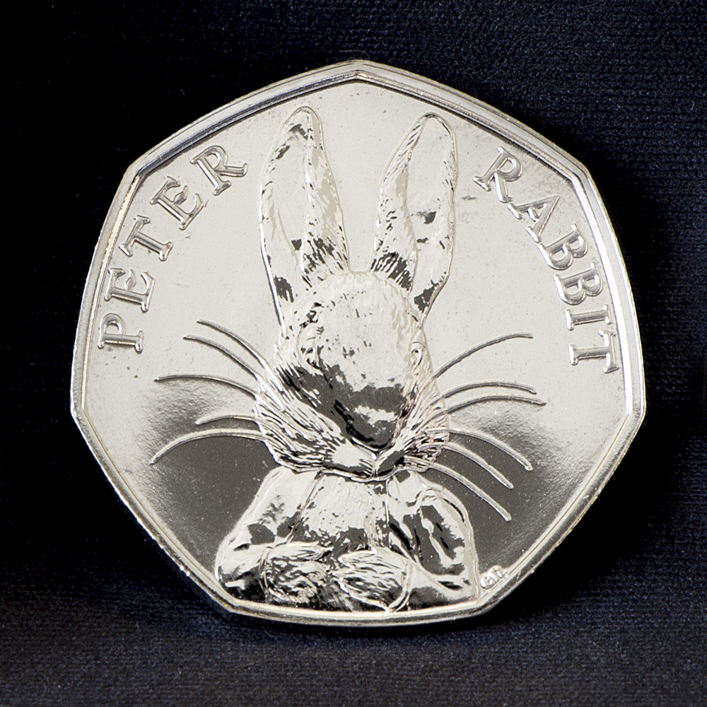 st peter rabbit bu 50p coin - The truth behind the Beatrix Potter 50ps