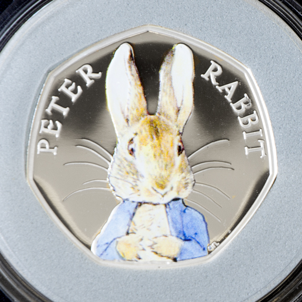 st peter rabbit silver proof 50p coin - The truth behind the Beatrix Potter 50ps