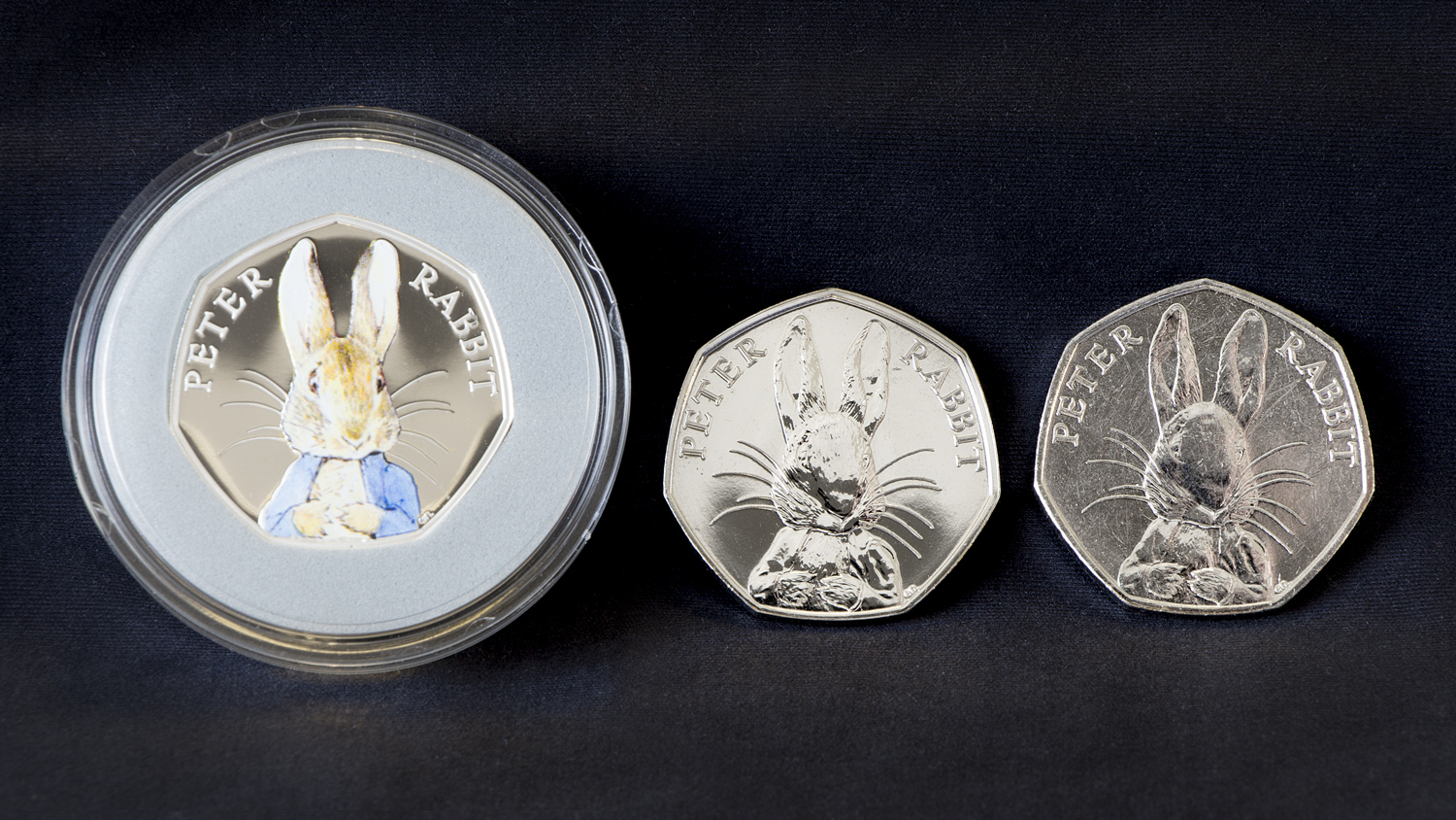 st peter rabbit silver proof bu circulating 50p coins1 - The truth behind the Beatrix Potter 50ps