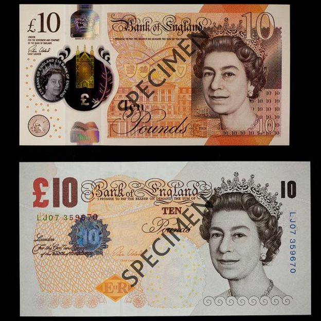 96989331 oldnewnotes - Everything you need to know about the Jane Austen Polymer £10 banknote...