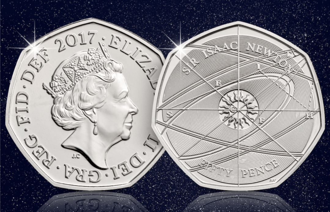 Isaac Newton - Will the Sir Isaac Newton 50p coin become more scarce than the Kew Gardens?