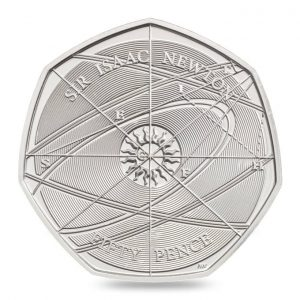 newton coin 300x300 - How does it feel to design the UK's newest circulation coin? I caught up with Aaron West to find out.