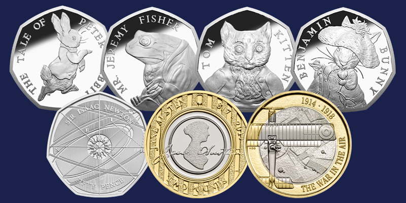 When will the 2017 coins be released into circulation?