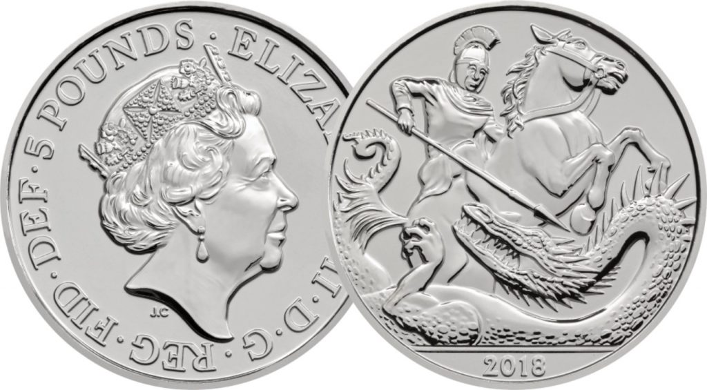 5th Birthday OB and REV 1024x565 - First look: New Royal Mint coin designs for 2018!