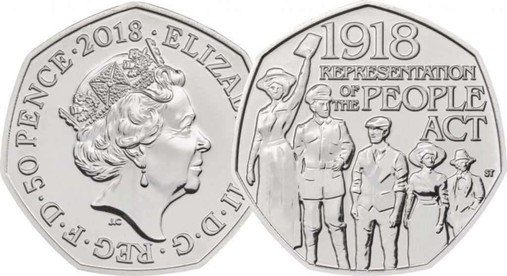 Representation OB and REV 1024x558 - First look: New Royal Mint coin designs for 2018!