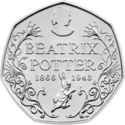 Potter - Britain's literary heroes celebrated on coins...